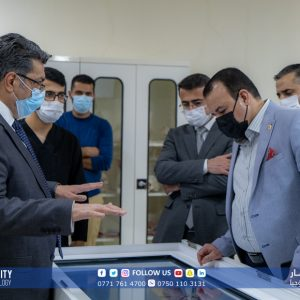 A delegation from Iraq Representative Council visited KUST